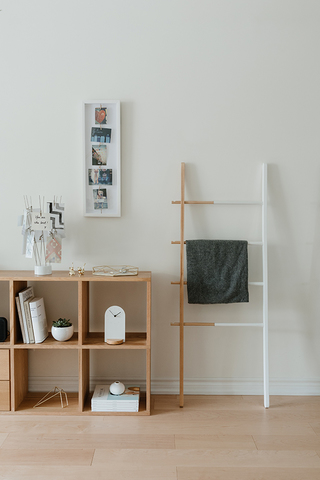 Панно с зажимами для 7 фото clothesline белое