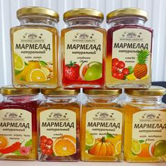 Натуральный мармелад «Апельсин + Перец Чили + Малина» / 250 мл