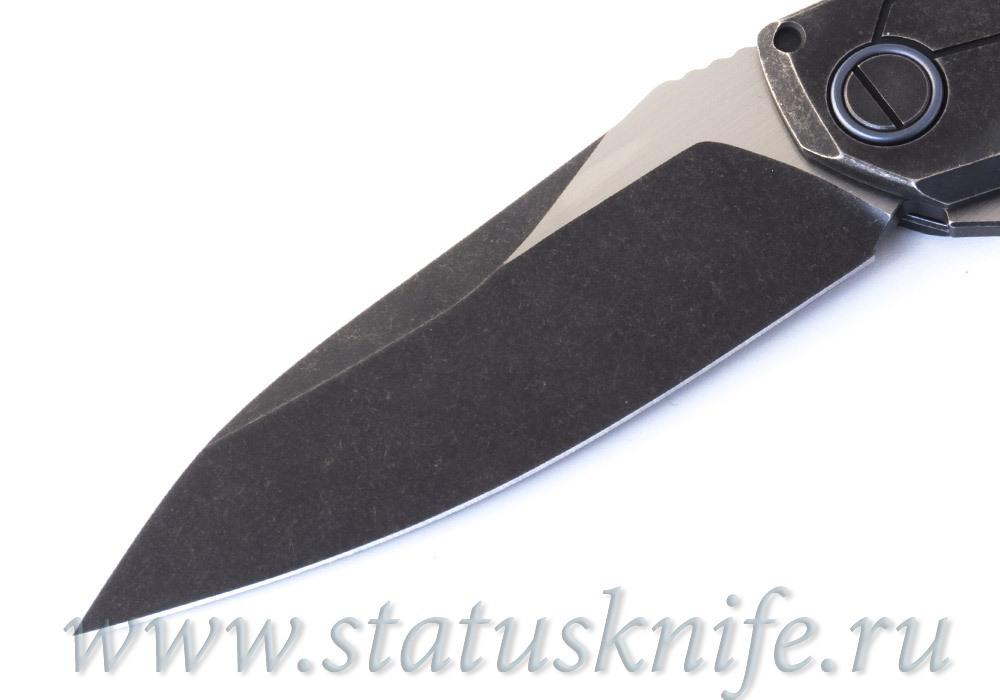 Нож CKF T14B (new T90) Alexey Konygin, M390, Copper, Ti, Sale Card - фотография