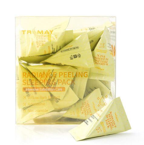 Ночная маска отшелушивающая с ниацинамидом для сияния кожи Trimay Radiance Peeling Sleeping Pack