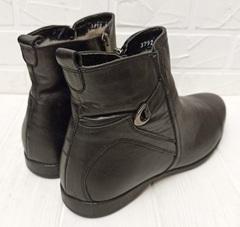 кожаные ботинки мужские зима