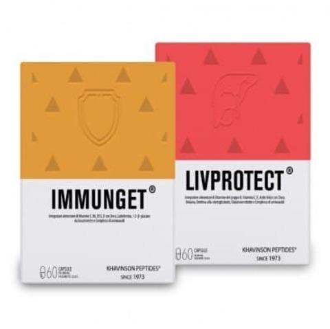 ИММУНГЕТ + ЛИВПРОТЕКТ (50%) пептидный комплекс