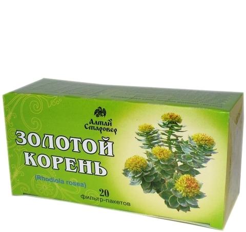 Золотой корень (родиола розовая) 20 фильтр-пакетов по 1,5 г (Старовер)