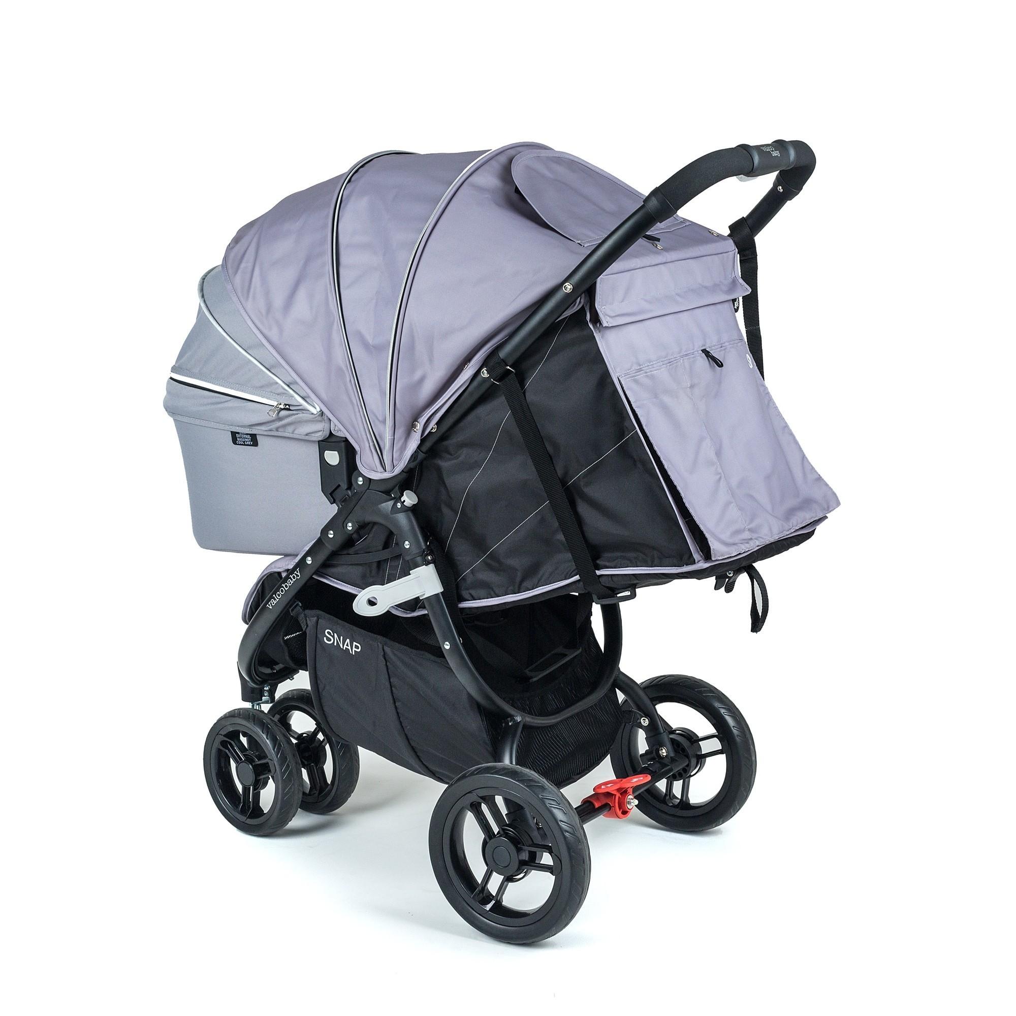 Люлька Valco baby External Bassinet для Snap & Snap4 / Cool Grey