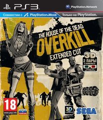 The House of the Dead Overkill Extended Cut (PS3, с поддержкой PS Move, русская документация)