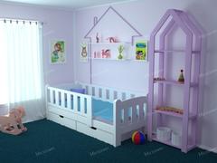 Детская кровать Сказка без лестницы