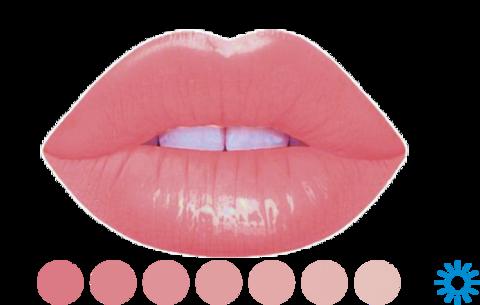 Бархатный персик #1 • LIP BLUSH • пигмент для губ