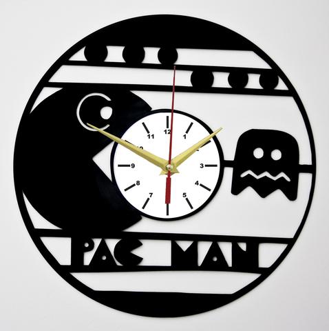 Пак ман Часы из Пластинки