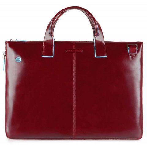Сумка для ноутбука Piquadro Blue Square (CA4021B2/R) красный кожа