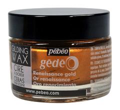 Воск (вакса) для золочения Pebeo Gedeo 30 мл Цвет Золото Ренессанс