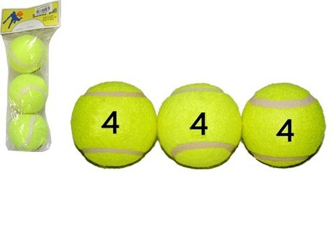 Мяч для б/т (3 шт. в пакете) 4 сорт. для тренировочных пушек и тренировок начинающим. :(ТО304):