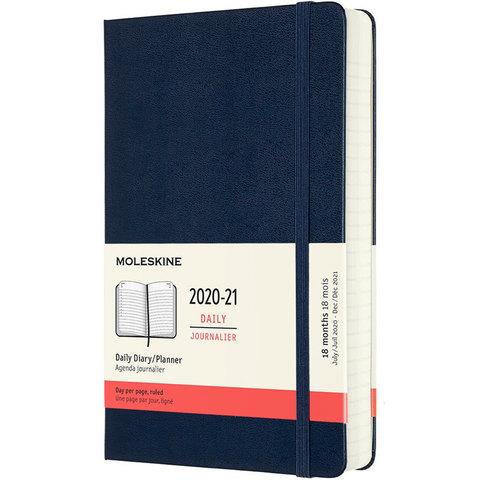 Ежедневник Moleskine Academic Large 130х210 мм 18 мес 592 стр синий