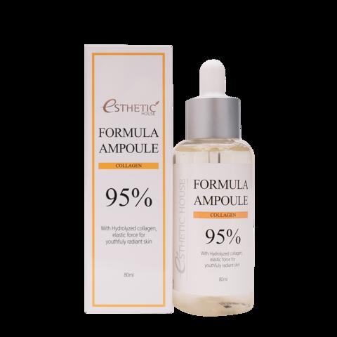 ESTHETIC HOUSE Сыворотка для лица КОЛЛАГЕН Formula Ampoule Collagen, 80 мл