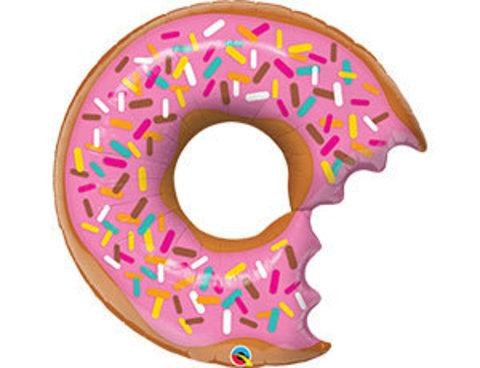 Фольгированный шар Пончик надкусанный