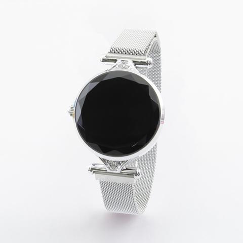 Женские часы здоровья с измерением давления и автоматическим мониторингом  пульса Health Watch WM1 (серебряный)