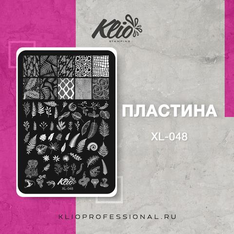 ПЛАСТИНА ДЛЯ СТЕМПИНГА KLIO PROFESSIONAL XL-048