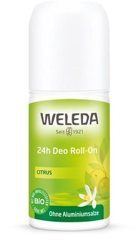Weleda Цитрусовый дезодорант 24 часа Roll-On 50 мл