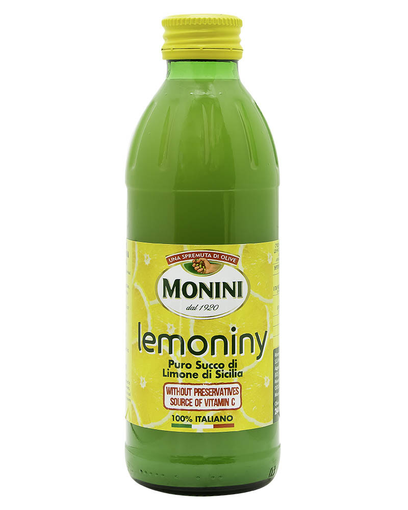 Сок cицилийского лимона Monini 100% без консервантов 240 мл.
