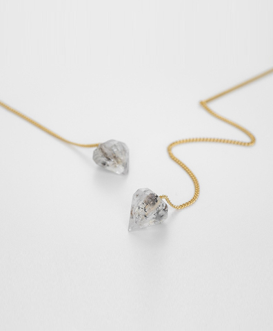 Серьги HERKIMER DIAMOND
