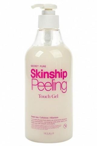 Увлажняющая пилинг-скатка для глубокого очищения кожи Skinship Peeling Touch Gel Elizavecca