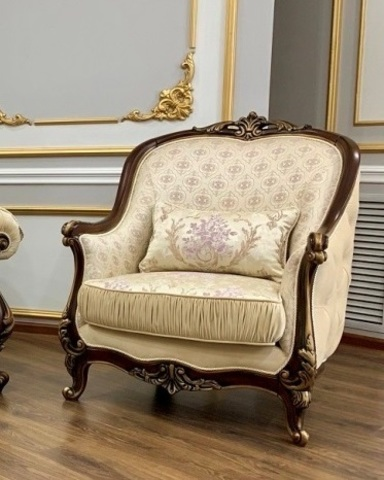 Кресло МОНА ЛИЗА орех