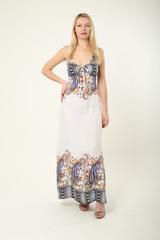 0625-1 платье цветное