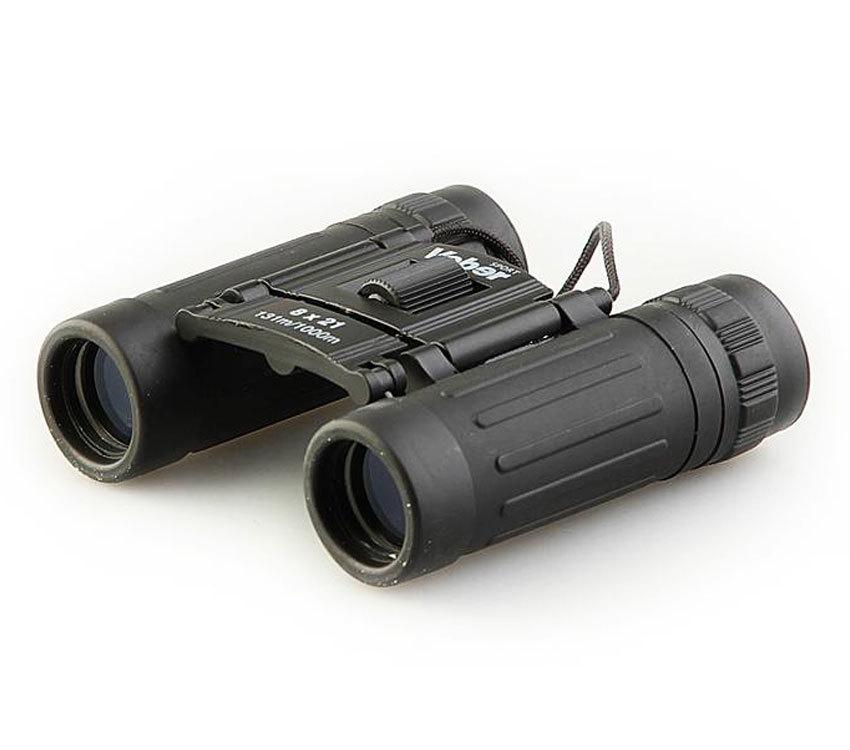 Бинокль Veber Sport БН 8x21 black - фото 1