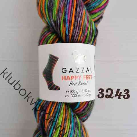 GAZZAL HAPPY FEET 3243, Серый радужный