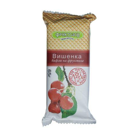 Вафли ФРУКТОЗОВ Вишенка с фруктозой 65 г РОССИЯ