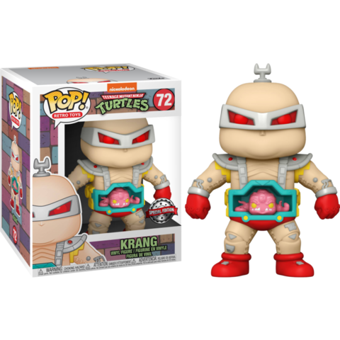 Фигурка Funko Pop! Retro Toys: Teenage Mutant Ninja Turtles - Krang 6