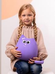 Мягкая игрушка-подушка Gekoko «Кошечка Мини Сирень» 1
