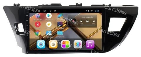 Головное устройство для Toyota Corolla 2014-2016 Android 9.0 2/32 модель CB3001T8