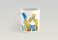 Кружка с рисунком из мультфильма Симпсоны (The Simpsons) белая 002