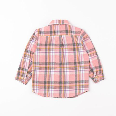 Check flannel shirt - Rose Quartz