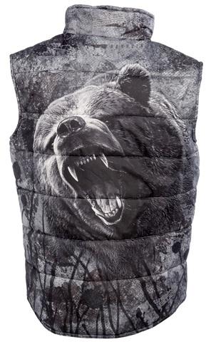Жилет стеганый Медведь