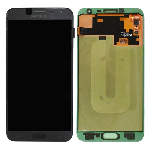 LCD SAMSUNG J4 2018 J400F + Touch Black OLED MOQ:5