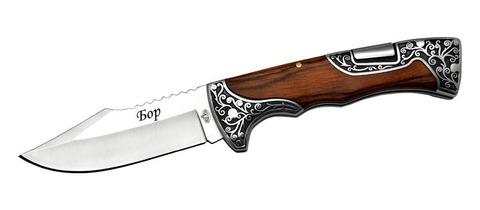 Нож складн. механический Бор B268-34 (ВиК) (15624)