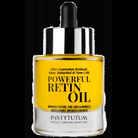 Концентрированное масло для лица с ретиноидом Powerful RetinOil, Instytutum, 30 мл.