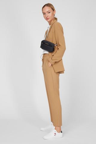 Женские бежевые брюки Tommy Hilfiger