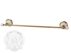Полотенцедержатель 60см. Migliore Provance ML.PRO-60.522 керамика с декором