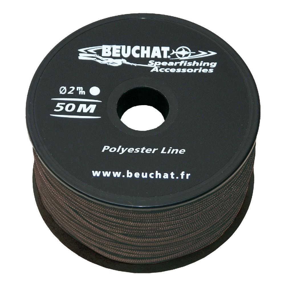 Линь нейлоновый 2 мм, 50 м (90 кг) BEUCHAT