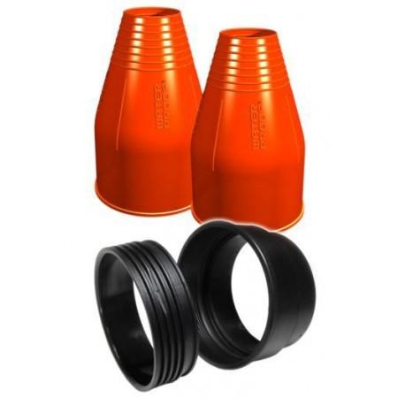 Набор Waterproof для установки силиконовых обтюраторов на запястье, круглый, оранжевый
