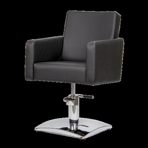 Парикмахерское кресло МД - 165 гидравлика хром, квадрат хром