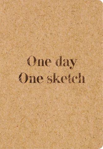 Скетчбук. One day, one sketch
