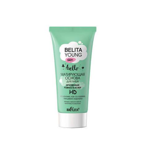 Матирующая основа для лица «Мгновенная ровность кожи» HD , 30 мл ( Belita Young Skin )