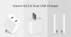 Зарядное устройство Xiaomi на 2 USB порта Quickcharge 3.0