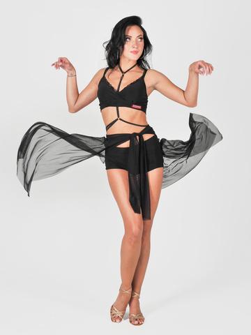 Кардиган из сетки для танцев