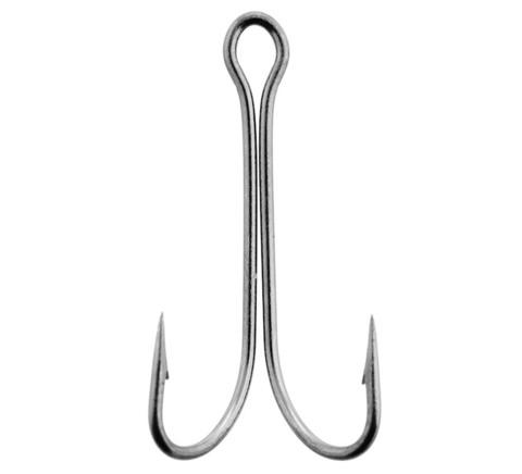 Крючки-двойники LUCKY JOHN Predator LJH121 №3/0, 4 шт