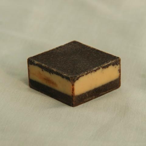 Масляная плитка с молотым кофе