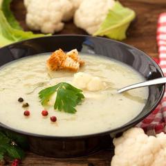 Суп пюре из цветной капусты / 350 мл